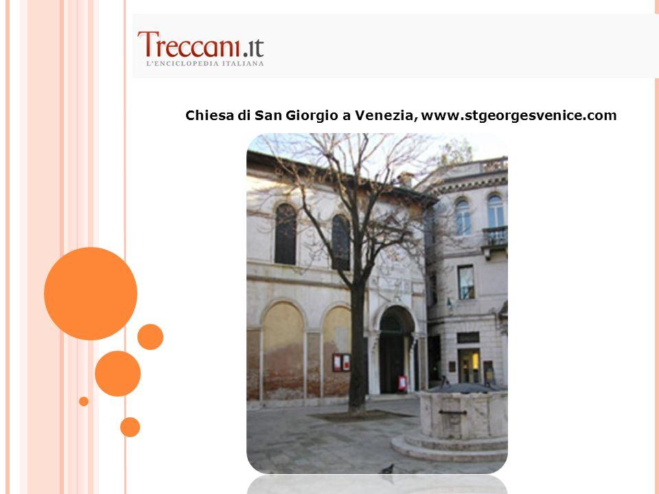 Chiesa di San Giorgio a Venezia, www.stgeorgesvenice.com