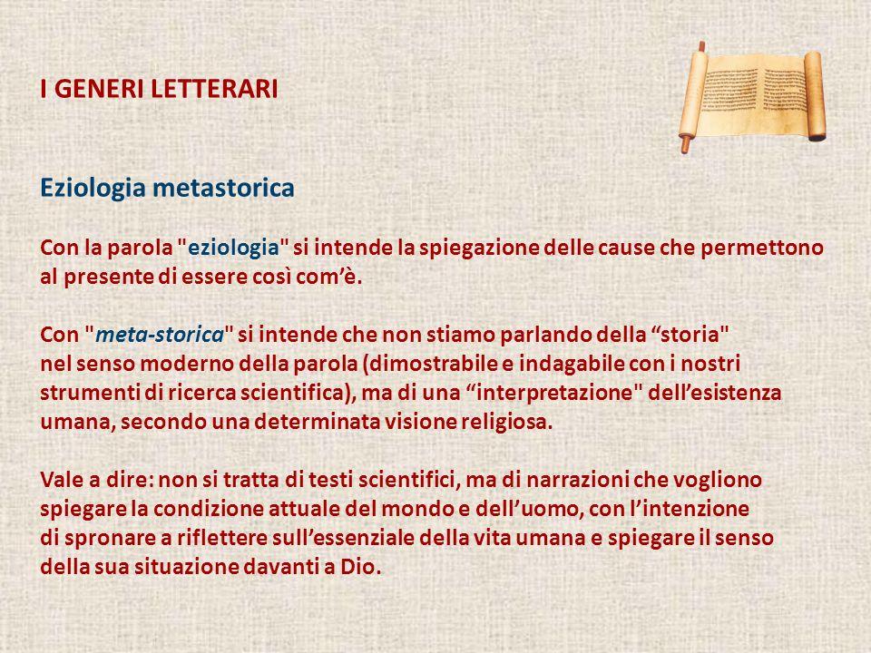 Eziologia metastorica