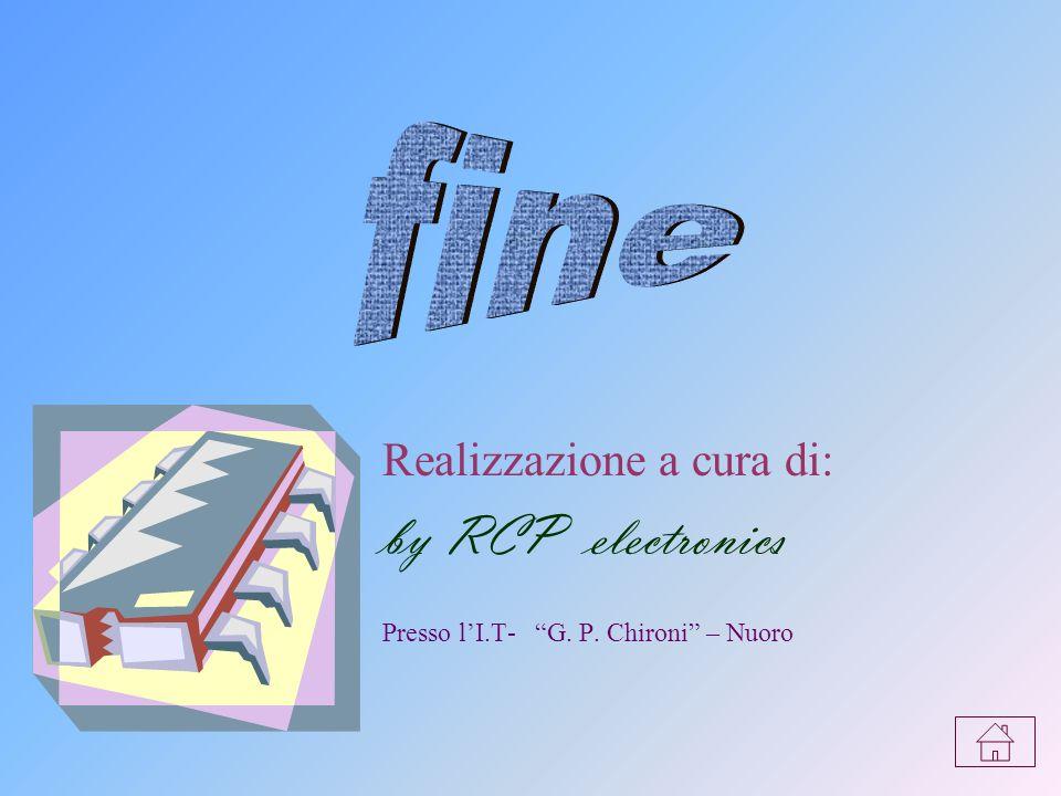 by RCP electronics fine Realizzazione a cura di: