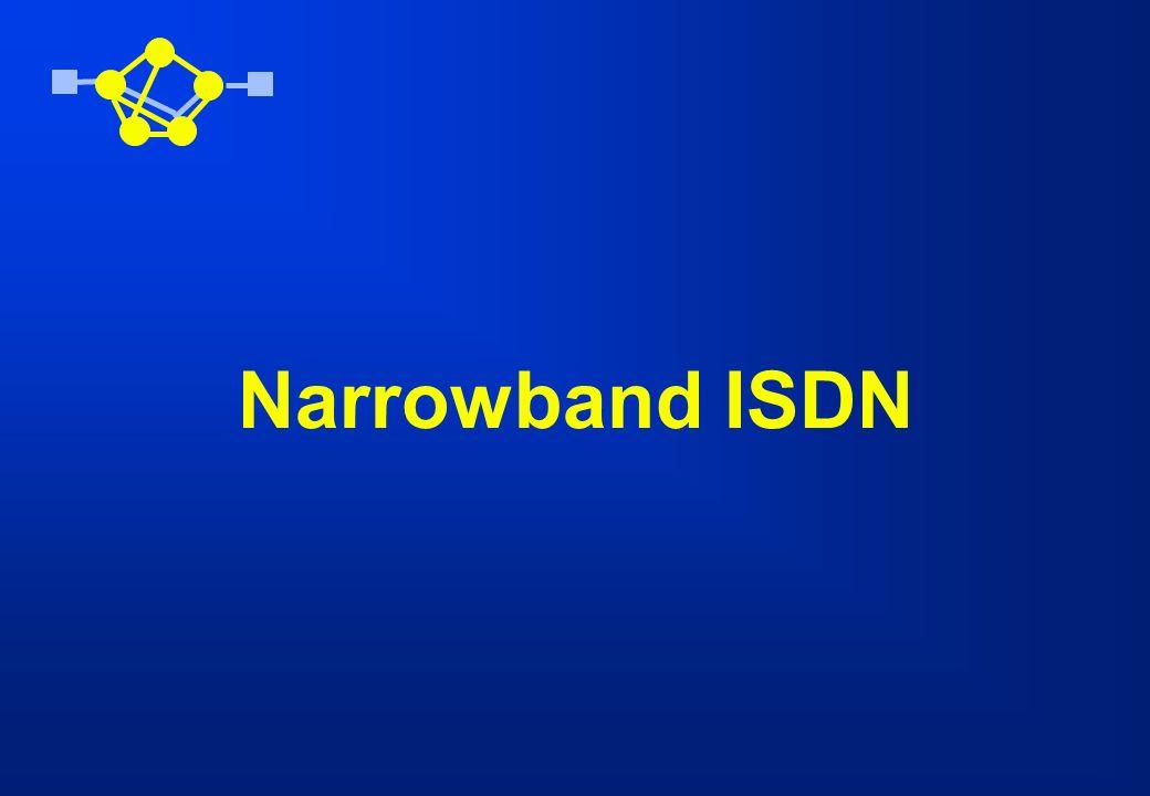Narrowband ISDN
