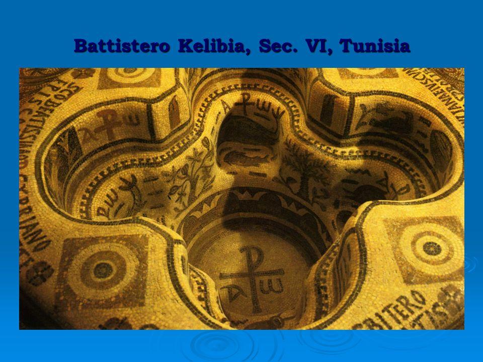 Battistero Kelibia, Sec. VI, Tunisia