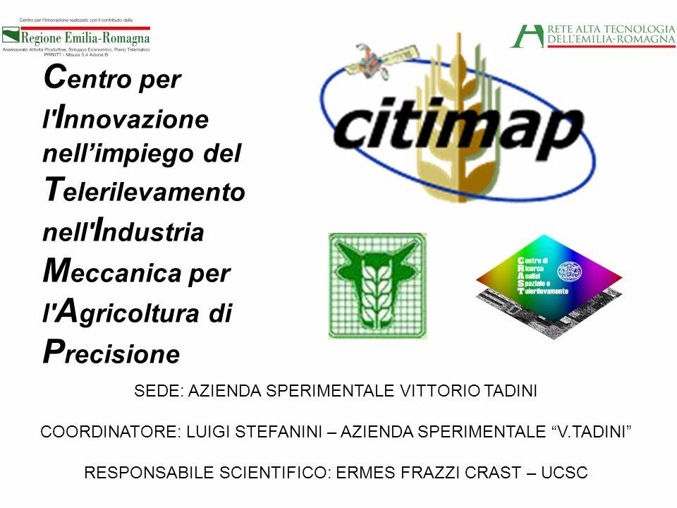 Centro per l Innovazione nell'impiego del Telerilevamento nell Industria Meccanica per l Agricoltura di Precisione