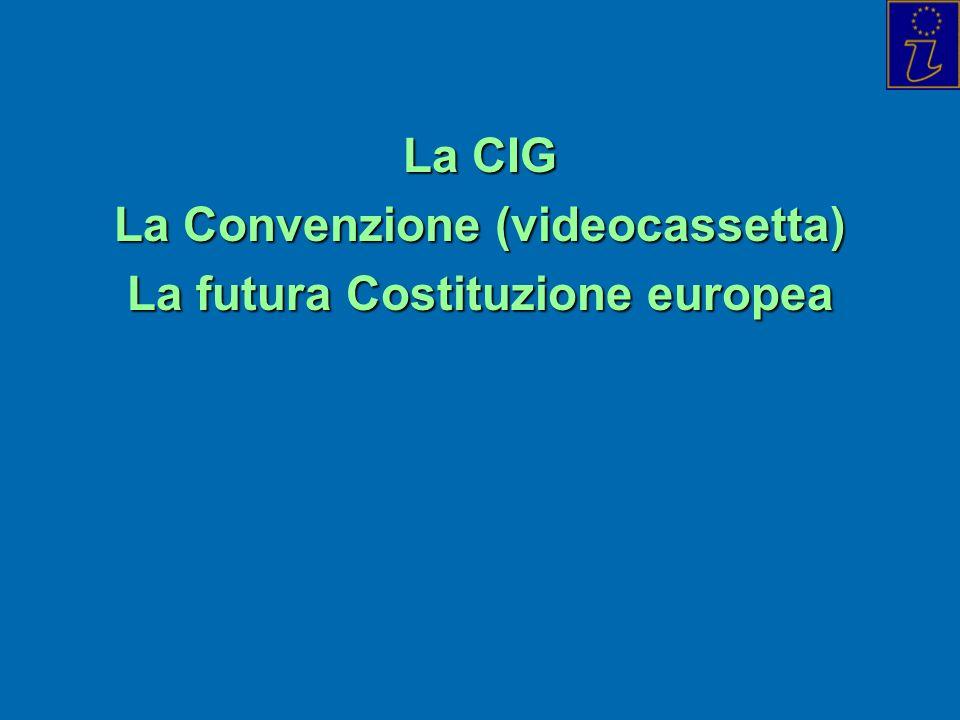 La Convenzione (videocassetta) La futura Costituzione europea