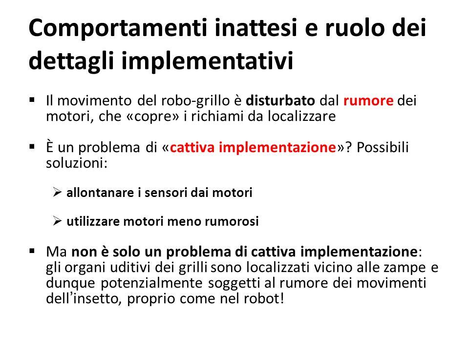 Comportamenti inattesi e ruolo dei dettagli implementativi