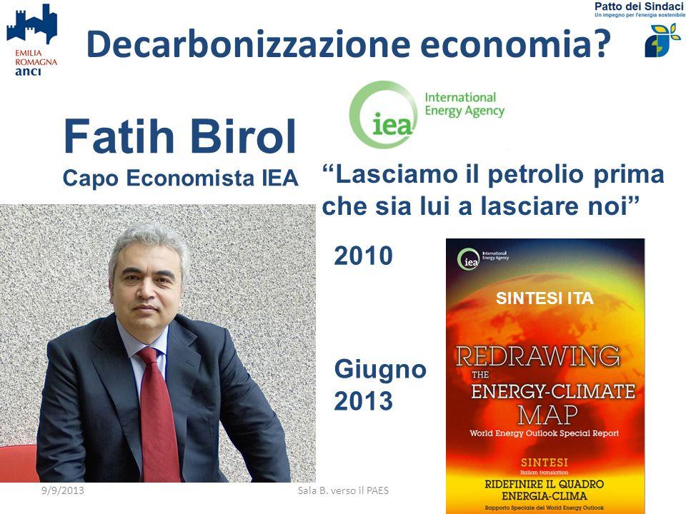 Decarbonizzazione economia