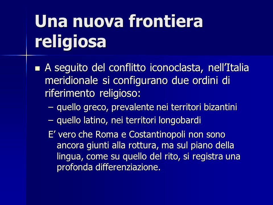 Una nuova frontiera religiosa