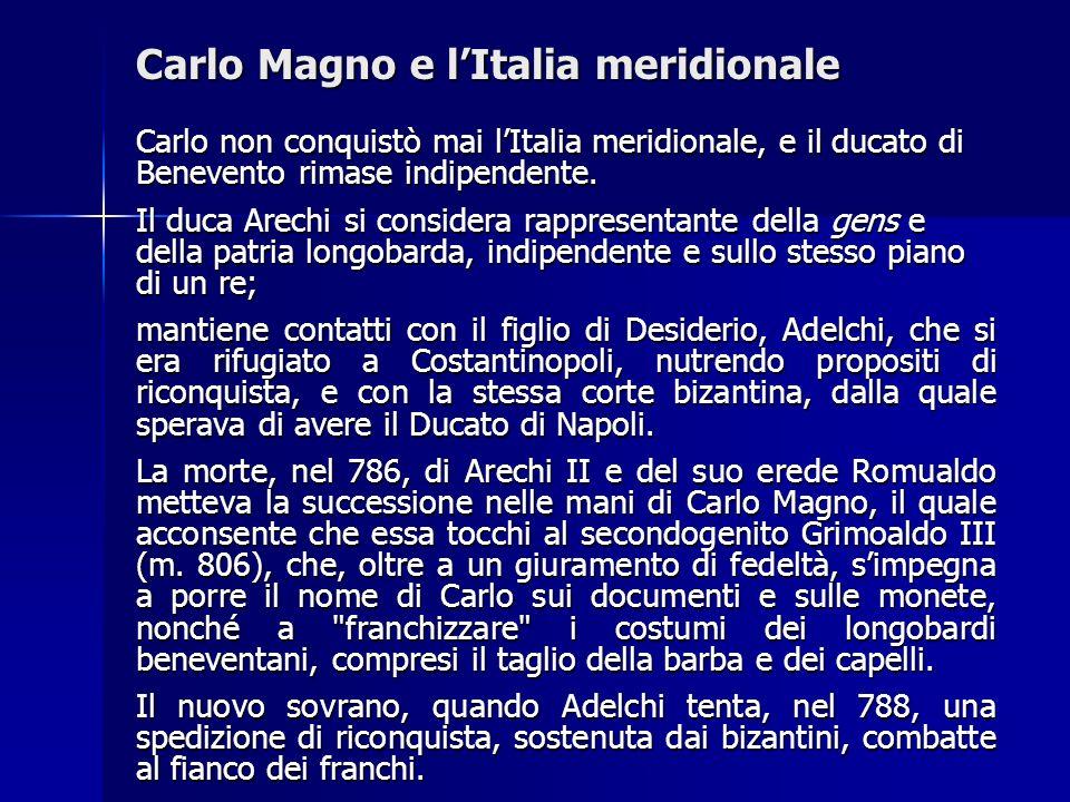 Carlo Magno e l'Italia meridionale
