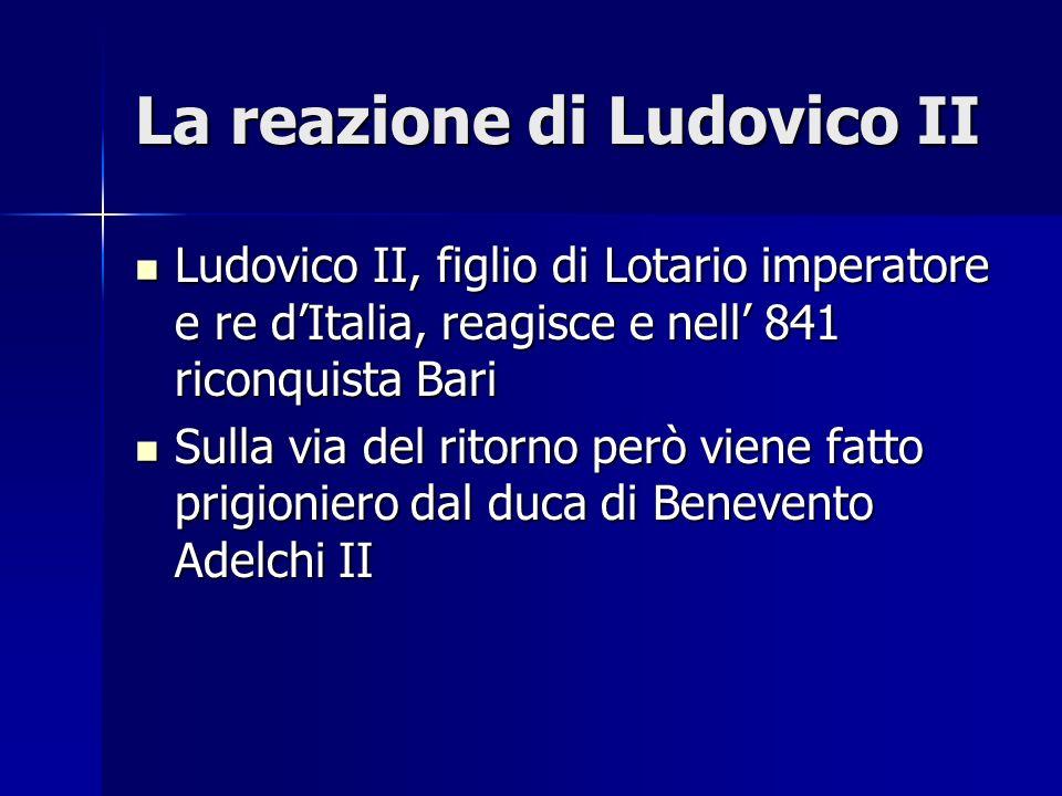 La reazione di Ludovico II