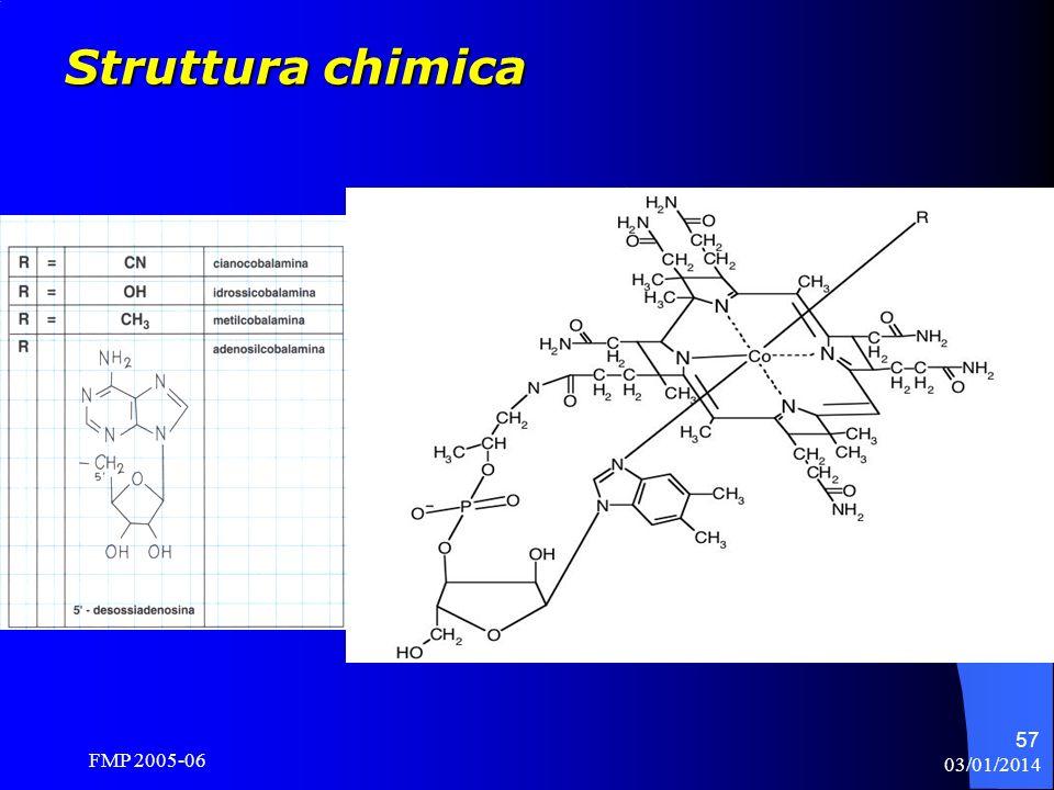 Struttura chimica R = CN; CH3; OH; 5 –deossi adenosina FMP 2005-06
