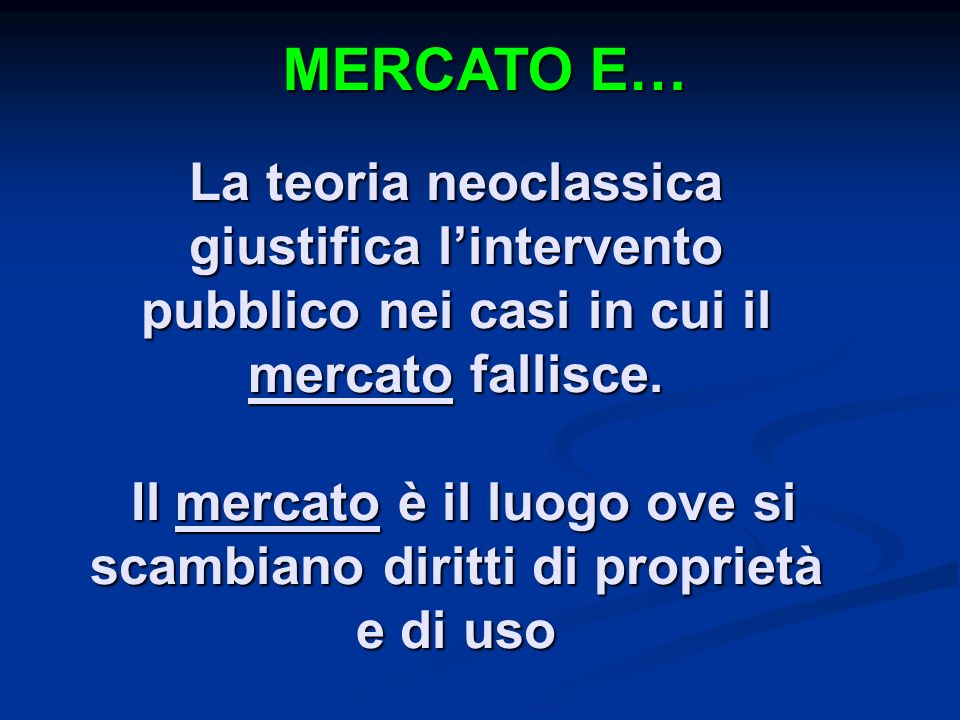 MERCATO E…
