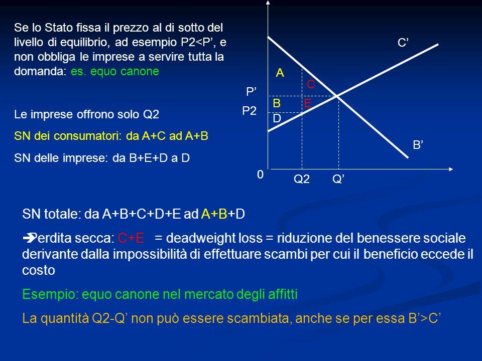 SN totale: da A+B+C+D+E ad A+B+D
