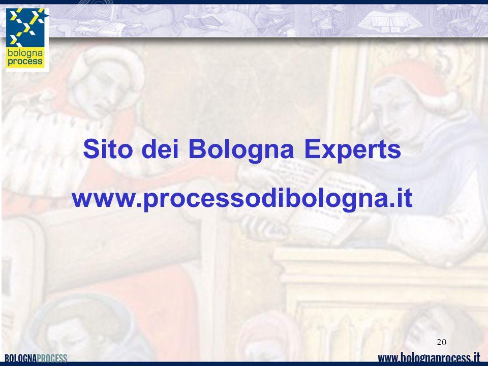 Sito dei Bologna Experts