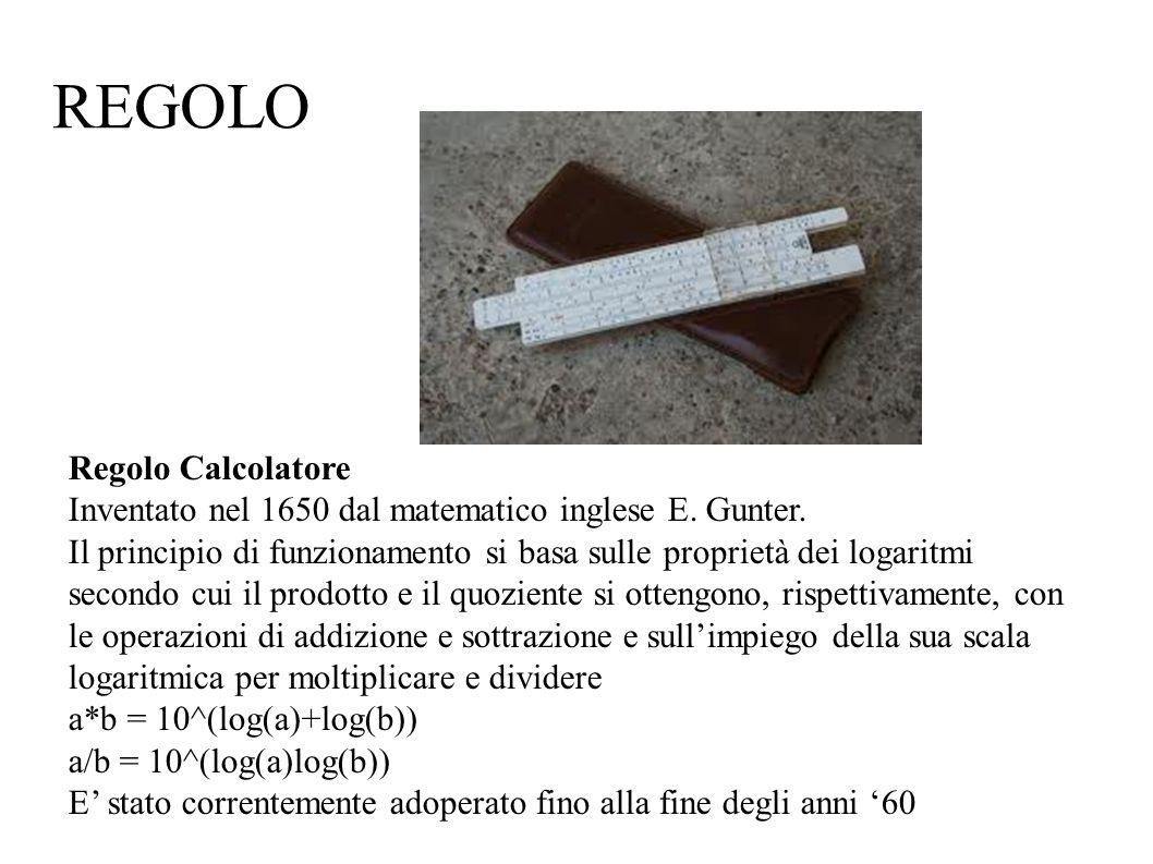 REGOLO Regolo Calcolatore