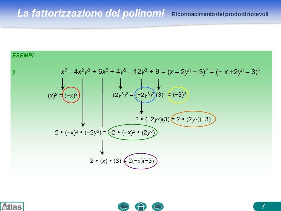 2  (−x)2  (−2y3) = −2  (−x)2  (2y3)