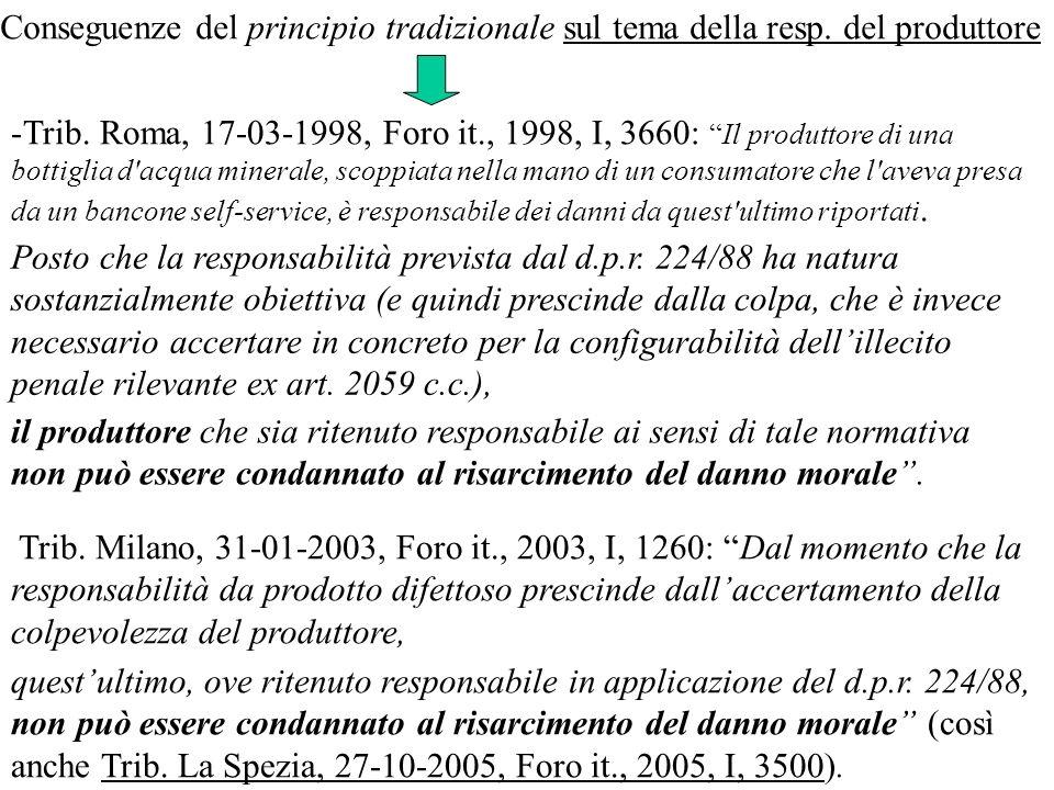 Trib. Roma, 17-03-1998, Foro it., 1998, I, 3660: Il produttore di una