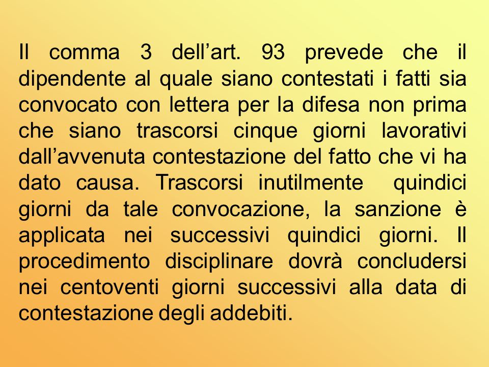 Il comma 3 dell'art.