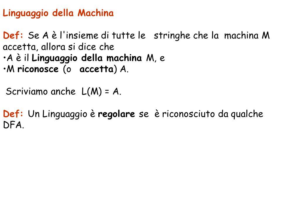 Linguaggio della Machina