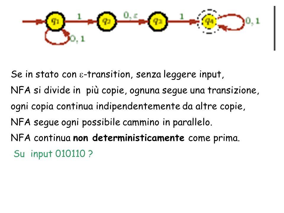 Se in stato con e-transition, senza leggere input,