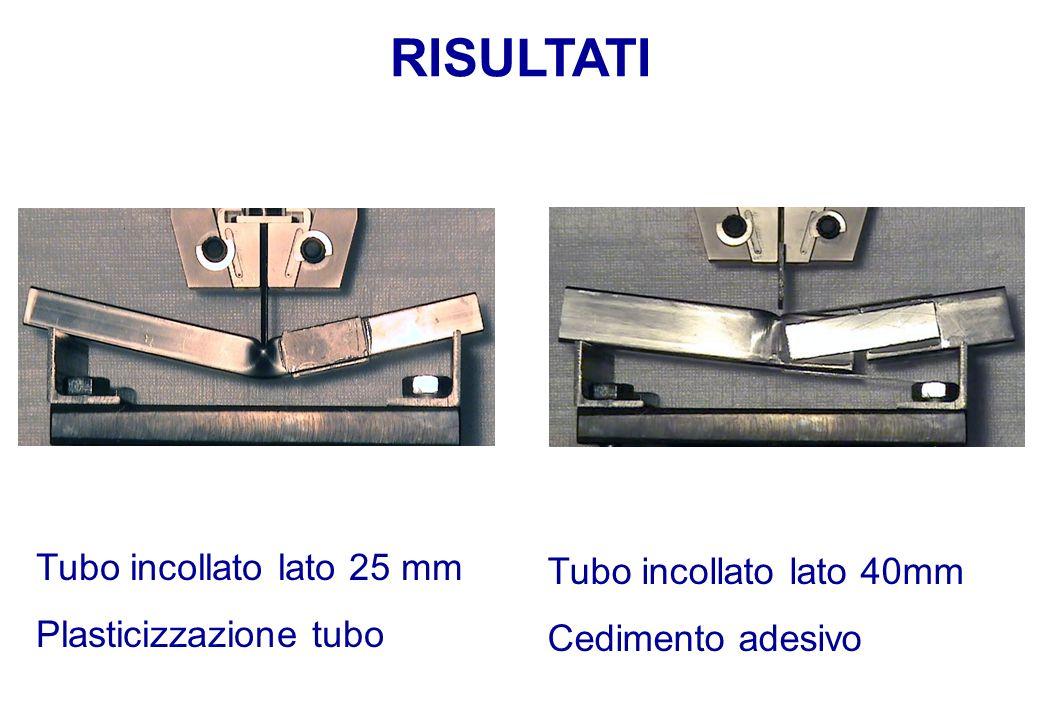 Plasticizzazione tubo Tubo incollato lato 40mm Cedimento adesivo
