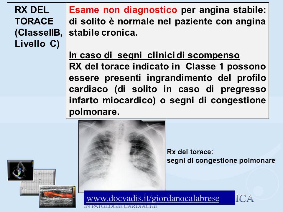 RX DEL TORACE (ClasseIIB, Livello C)