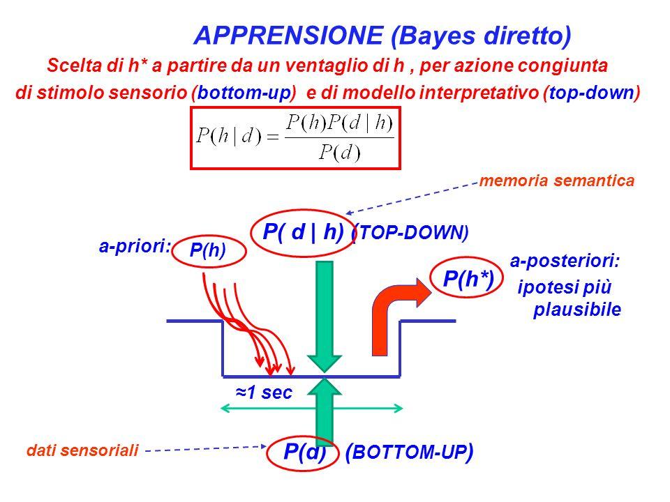 APPRENSIONE (Bayes diretto)