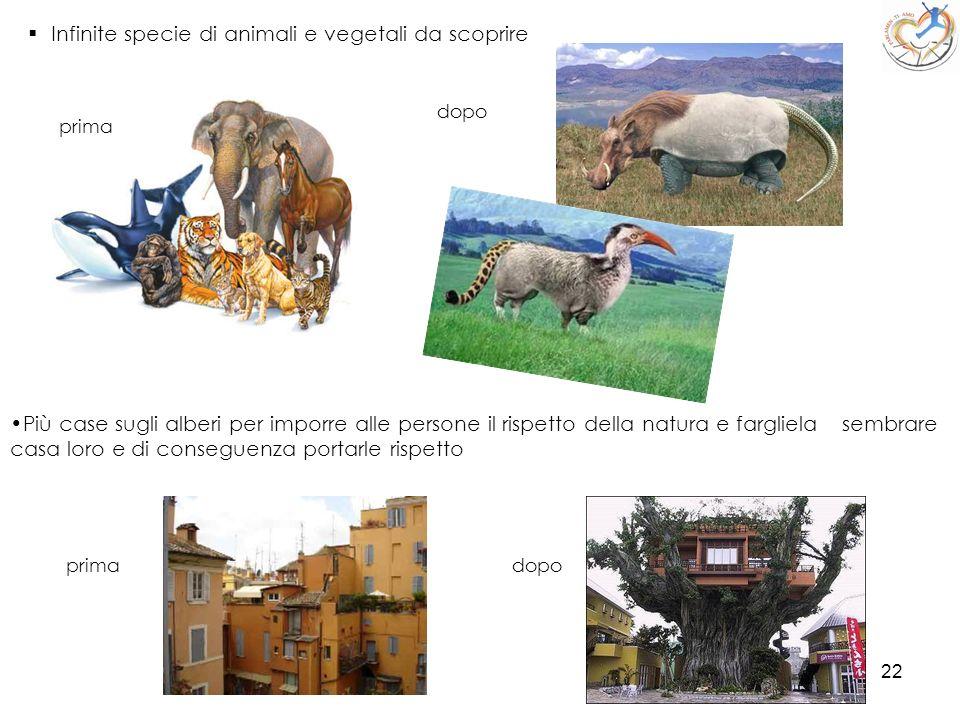 Infinite specie di animali e vegetali da scoprire