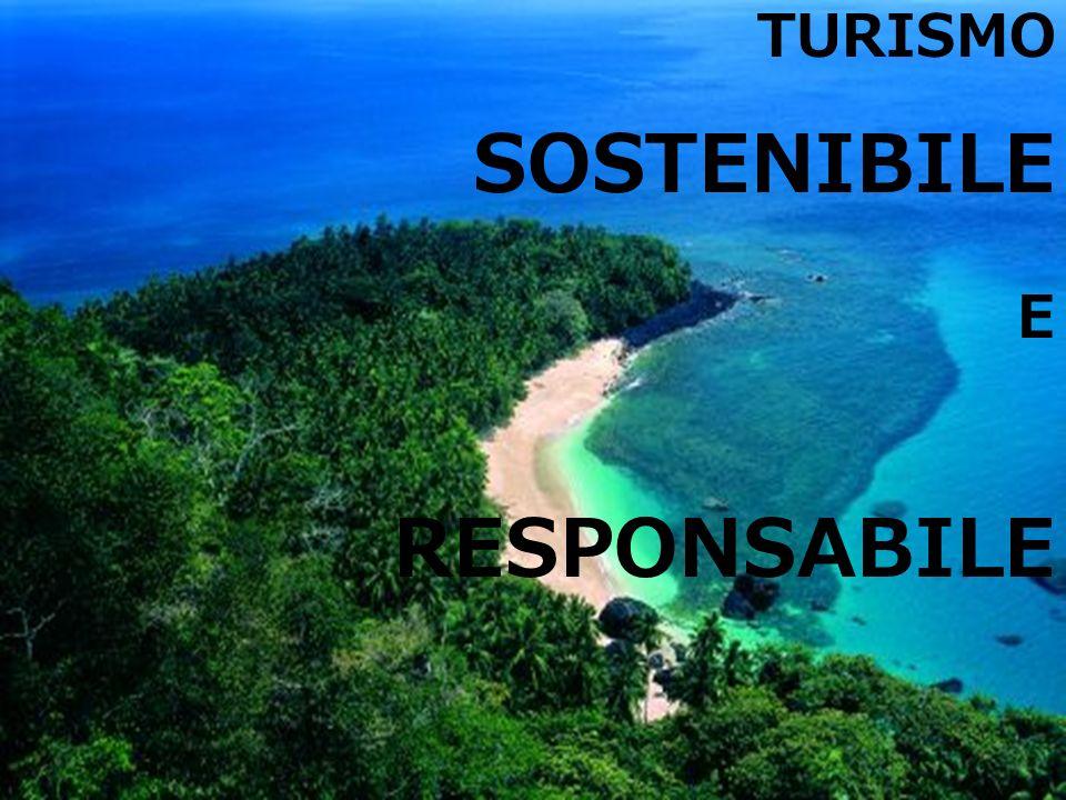 TURISMO SOSTENIBILE E RESPONSABILE