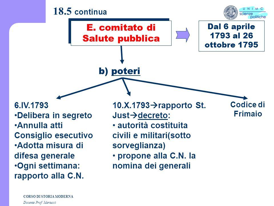 E. comitato di Salute pubblica