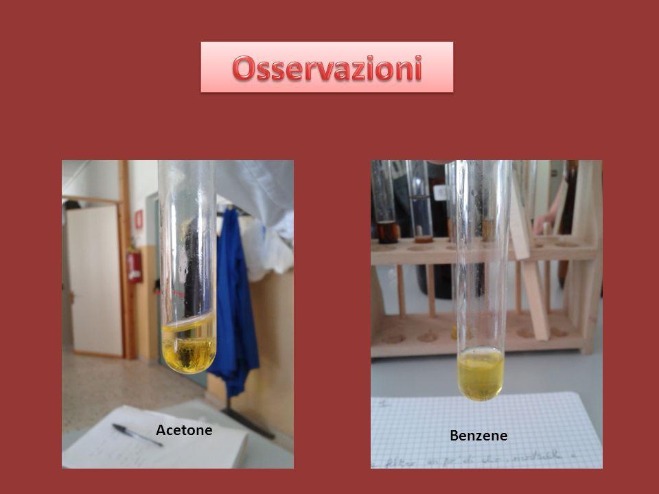 Osservazioni Acetone Benzene