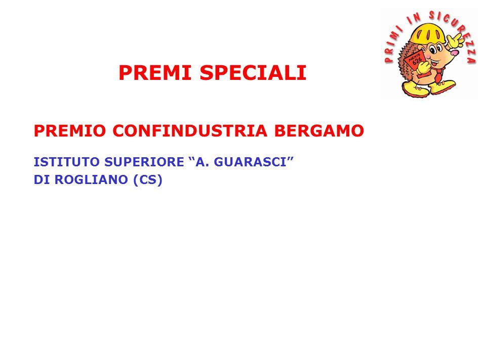PREMI SPECIALI PREMIO CONFINDUSTRIA BERGAMO