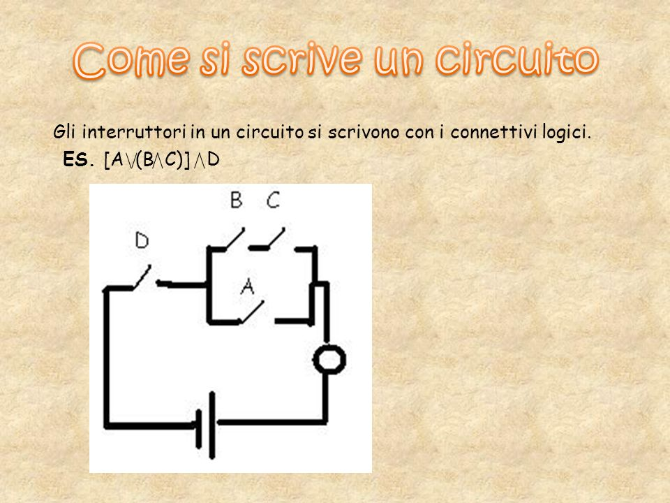Come si scrive un circuito