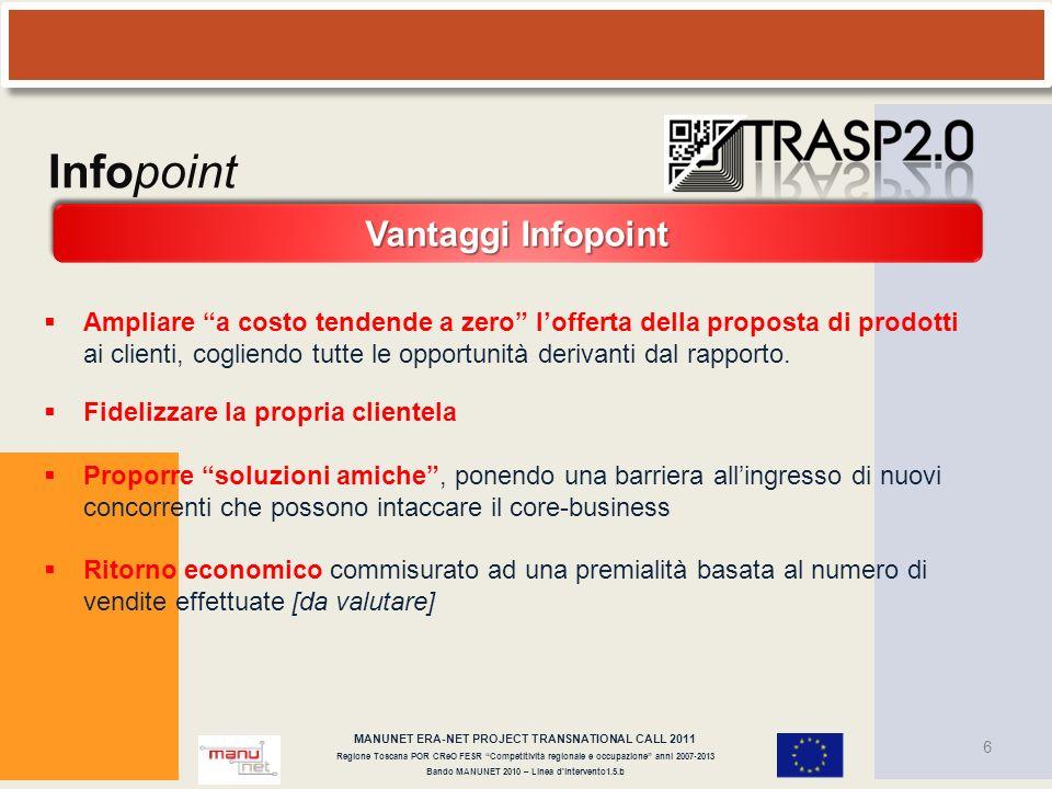 Infopoint Vantaggi Infopoint