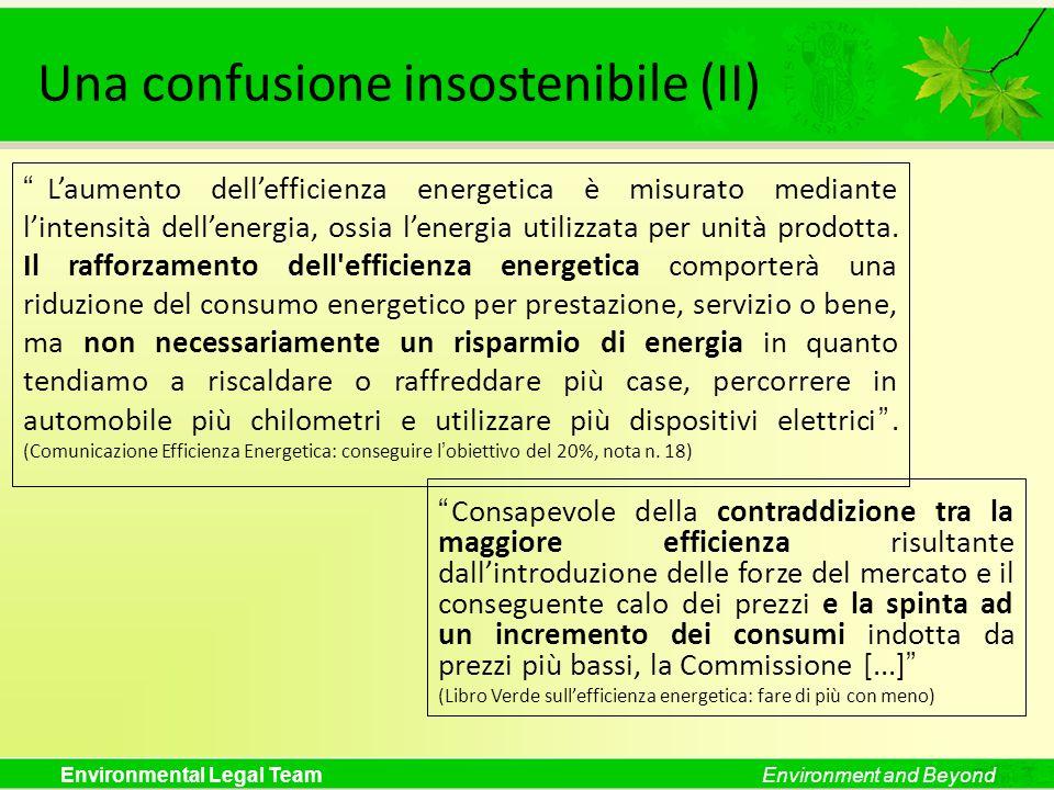 Una confusione insostenibile (II)