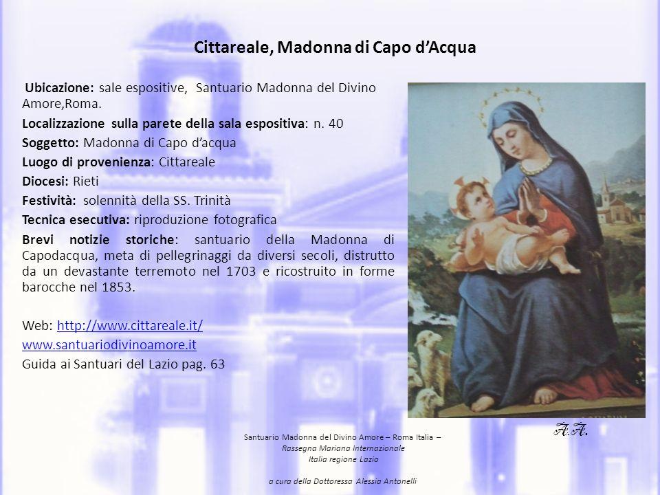 Cittareale, Madonna di Capo d'Acqua