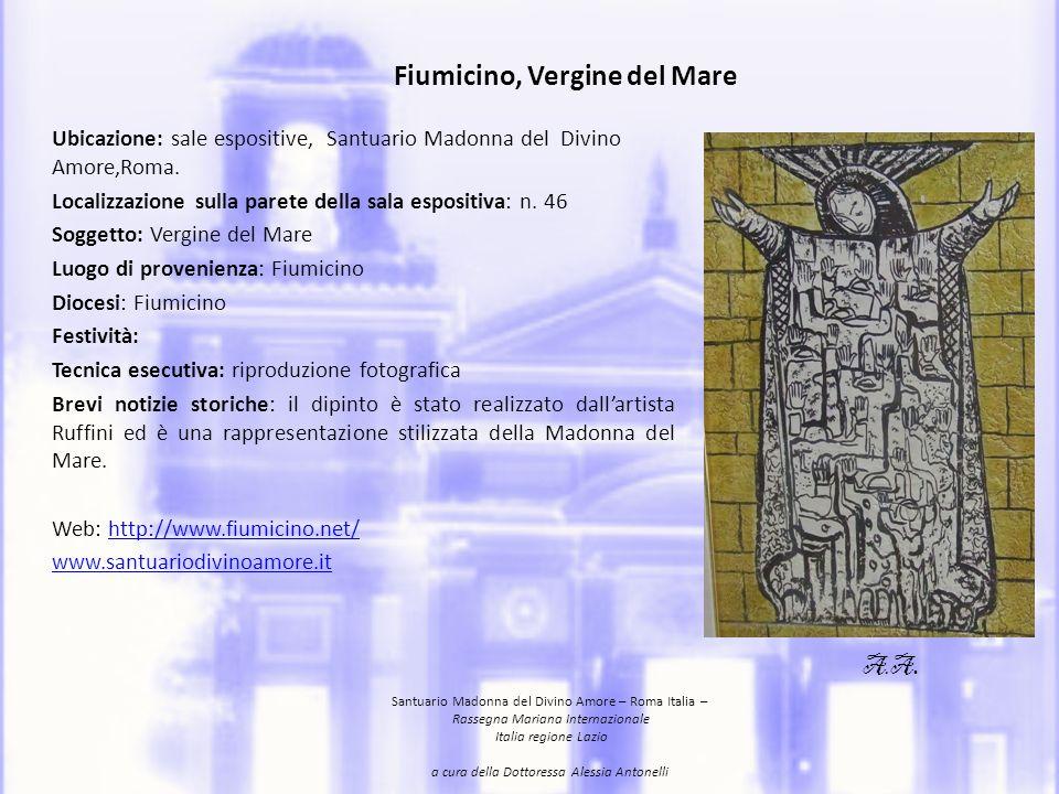 Fiumicino, Vergine del Mare