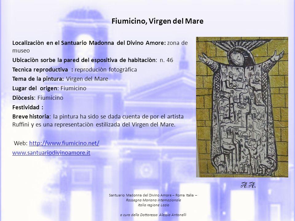 Fiumicino, Virgen del Mare