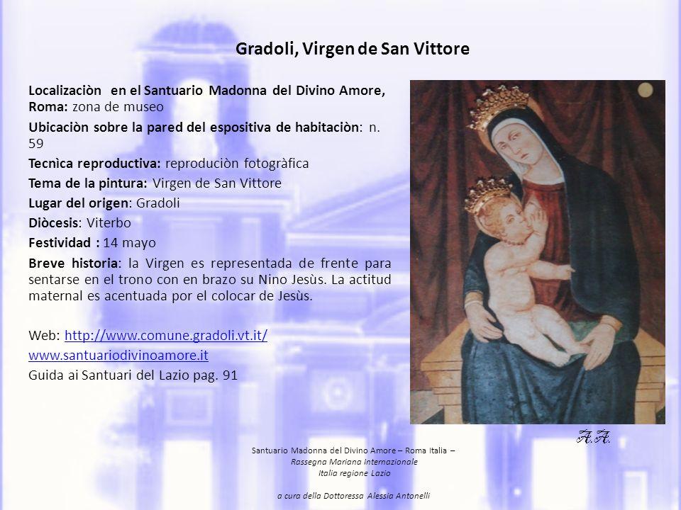 Gradoli, Virgen de San Vittore