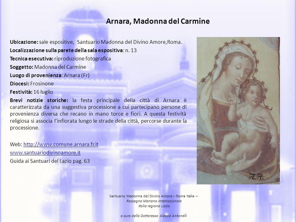 Arnara, Madonna del Carmine