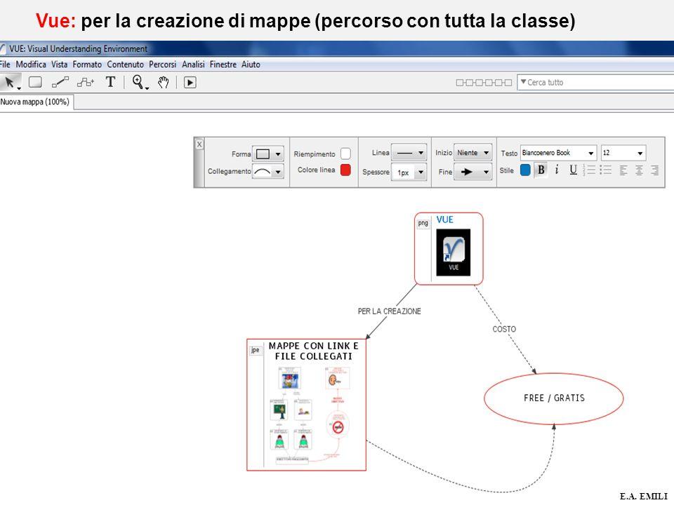 Vue: per la creazione di mappe (percorso con tutta la classe)