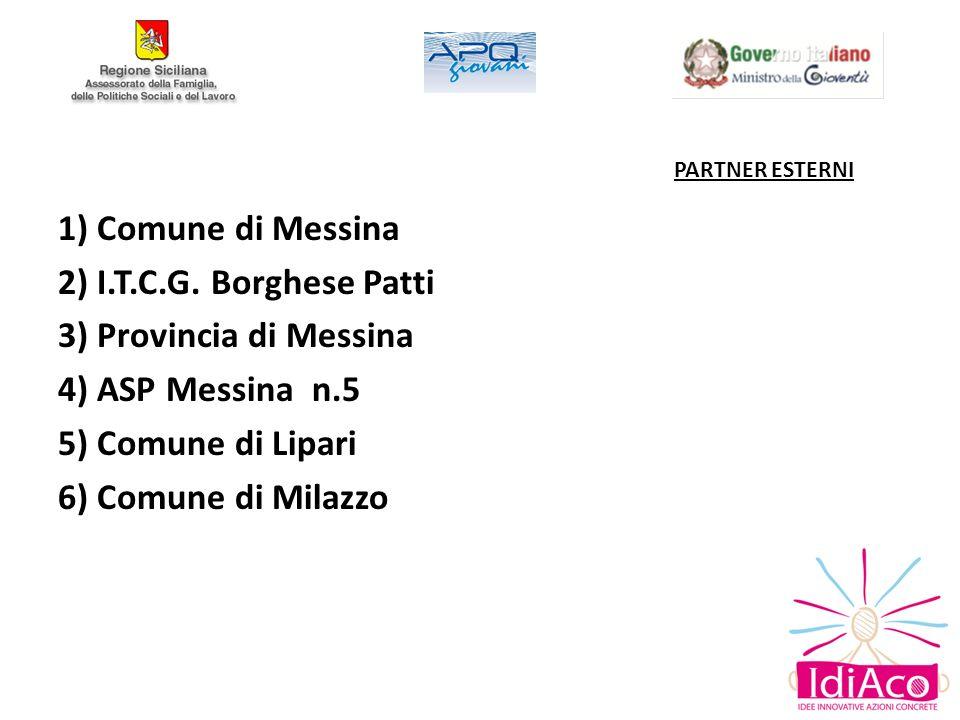 1) Comune di Messina 2) I.T.C.G. Borghese Patti
