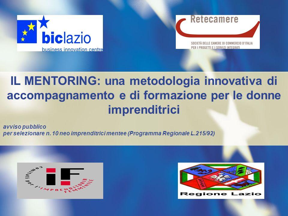 IL MENTORING: una metodologia innovativa di accompagnamento e di formazione per le donne imprenditrici