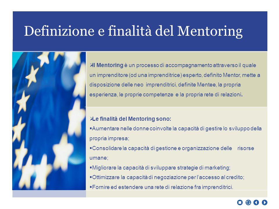 Definizione e finalità del Mentoring