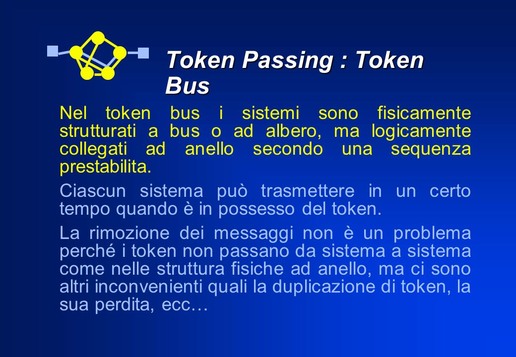 Token Passing : Token Bus