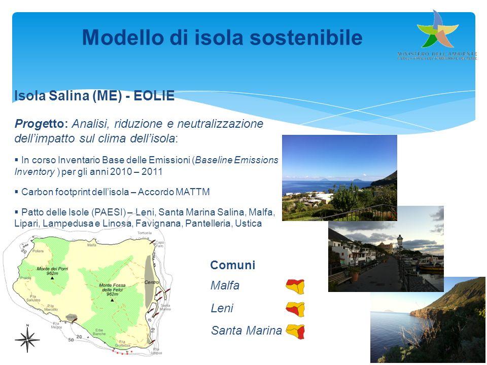 Modello di isola sostenibile