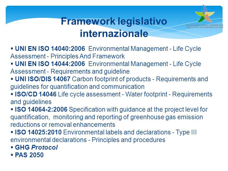 Framework legislativo