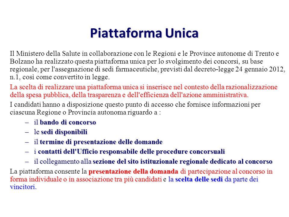 Piattaforma Unica