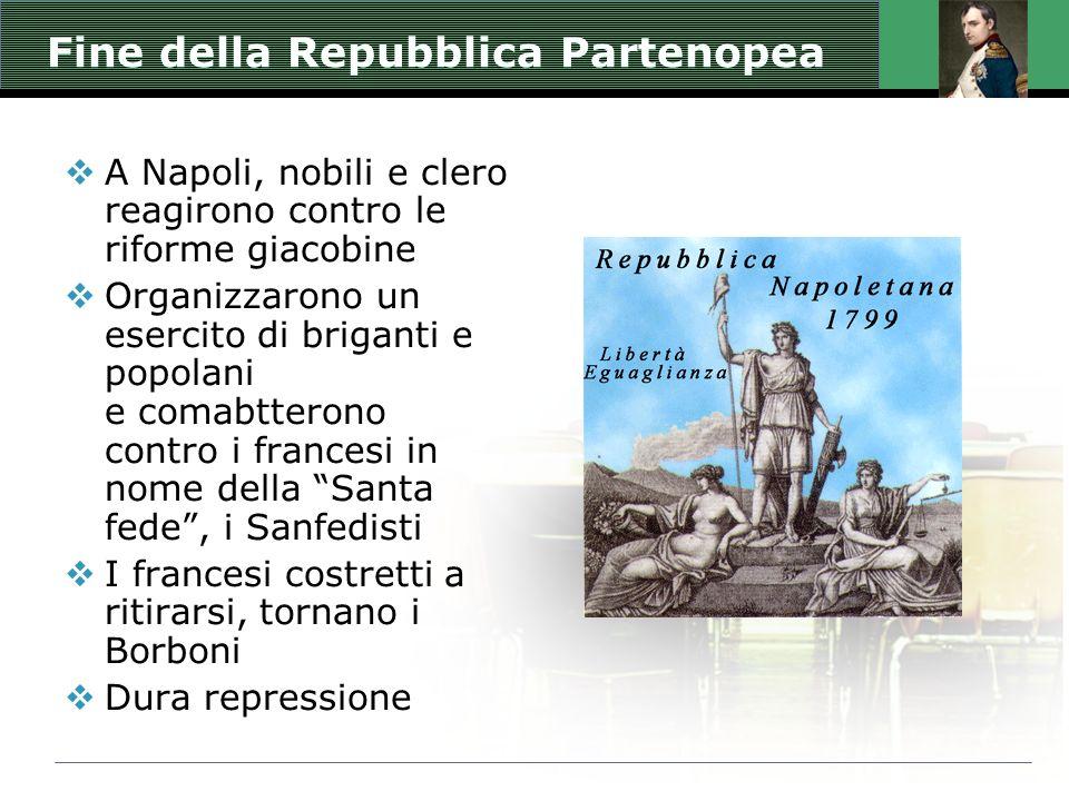 Fine della Repubblica Partenopea