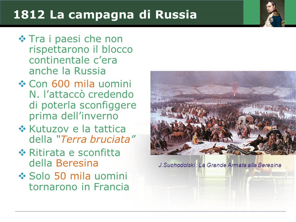 J.Suchodolski : La Grande Armata alla Beresina