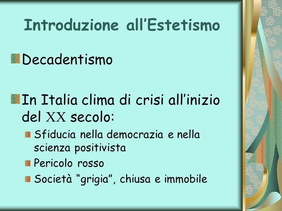 Introduzione all'Estetismo