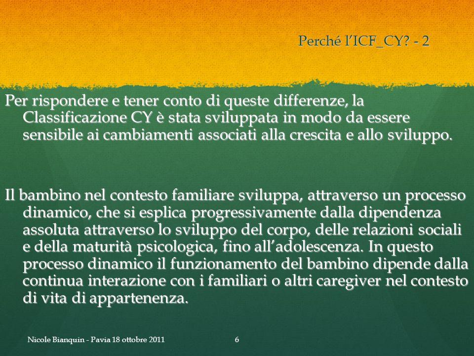 Perché l'ICF_CY - 2
